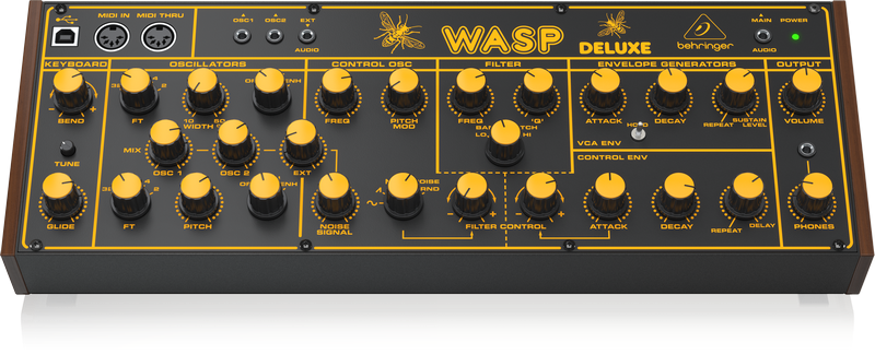 Behringer WASP DELUXE - syntezator analogowy