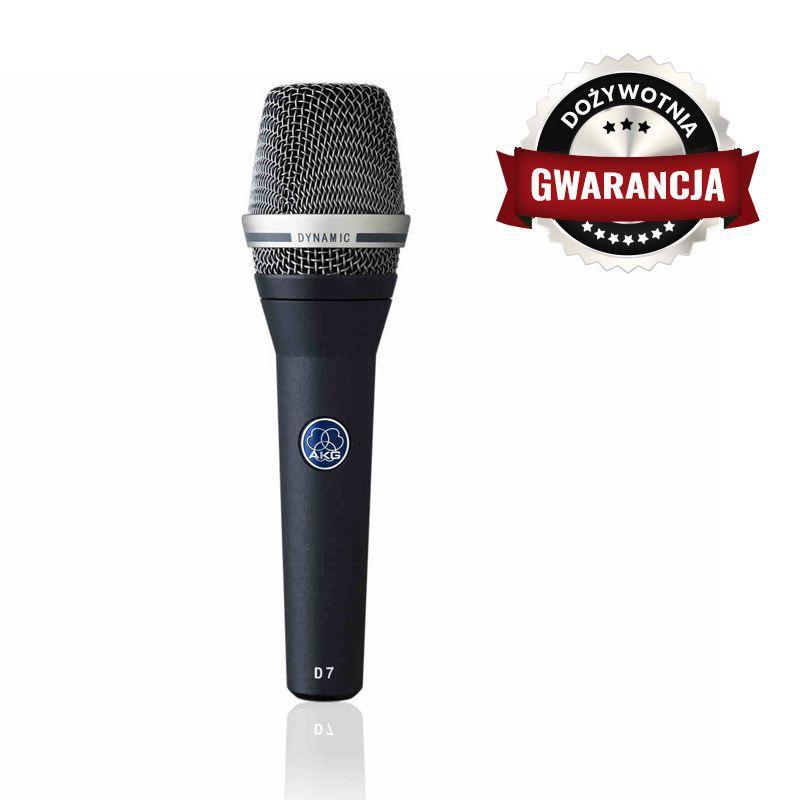 AKG D7 - mikrofon dynamiczny - DOŻYWOTNIA GWARANCJA
