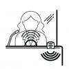 Tonsil Duplex WA 440 - interkom kasowy, urządzenie do okienek, mównica