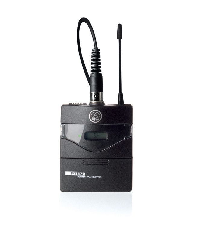 AKG  PT-470 BD1 50mw  - nadajnik do paska do sytemu WMS 470