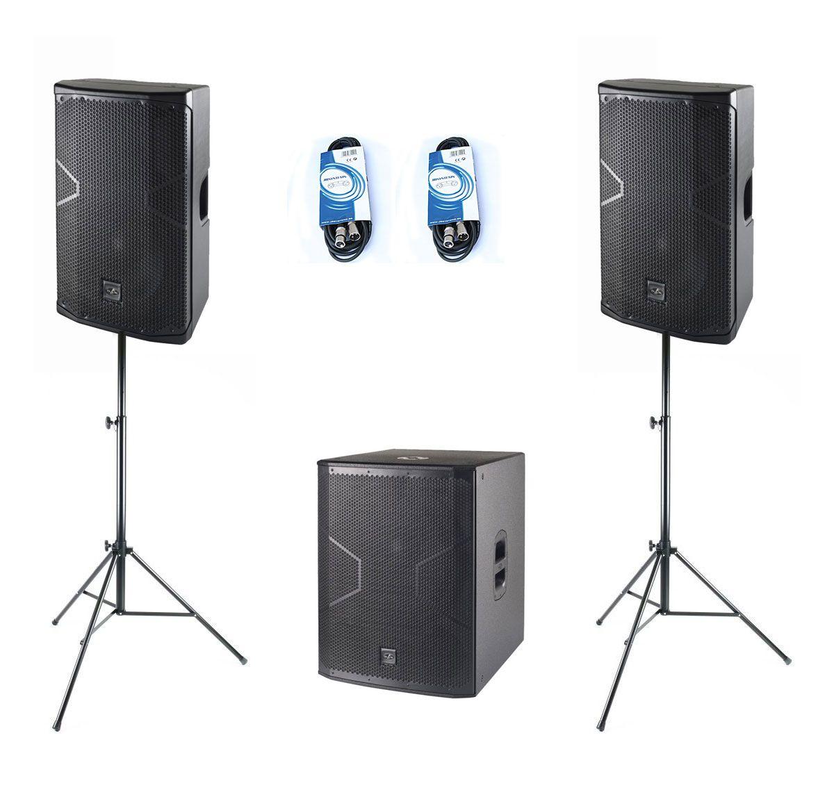 Das Audio 2x ALTEA-712A + ALTEA-718A - aktywny zestaw nagłośnieniowy