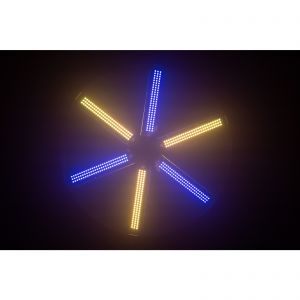 JB Systems LED FAN RGB - wentylator z efektem LED