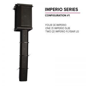 Avante Imperio - zestaw nagłośnieniowy liniowy
