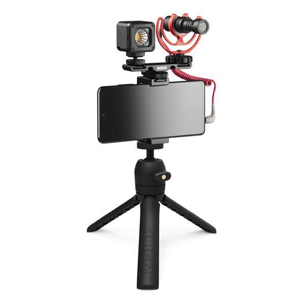 RODE Vlogger Kit Universal - zestaw dla vlogerów mikrofon