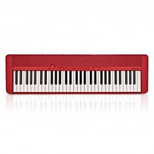 Casio CT-S1 RD - keyboard + ława + pulpit + kurs cd + książeczka
