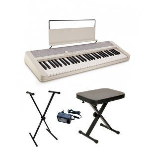 Casio CT-S1 WE - keyboard + ława + pulpit