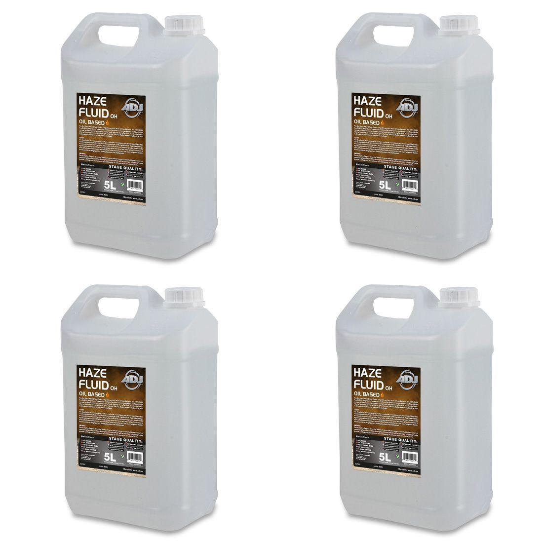 American DJ 4x ADJ Haze Fluid oil based 5l - płyn do wytwornicy mgły (4x5l)