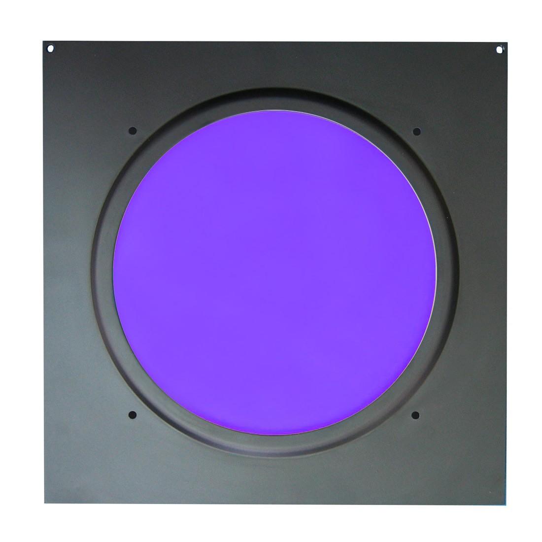 American DJ Dichrofilter PAR 56 (czarny) fioletowy - filtr do reflektorów PAR 56