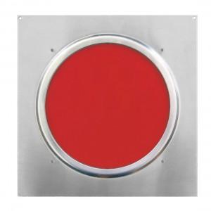 American DJ Dichrofilter PAR 56 (srebrny) czerwony - filtr do reflektorów PAR 56