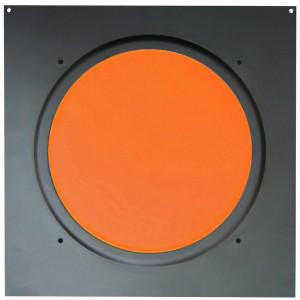American DJ Dichrofilter PAR 64 (czarny) pomarańczowy - filtr do reflektorów PAR 64