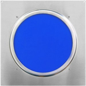 American DJ Dichrofilter PAR 64 (srebrny) niebieski - filtr do reflektorów PAR 64