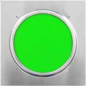 American DJ Dichrofilter PAR 64 (srebrny) zielony - filtr do reflektorów PAR 64