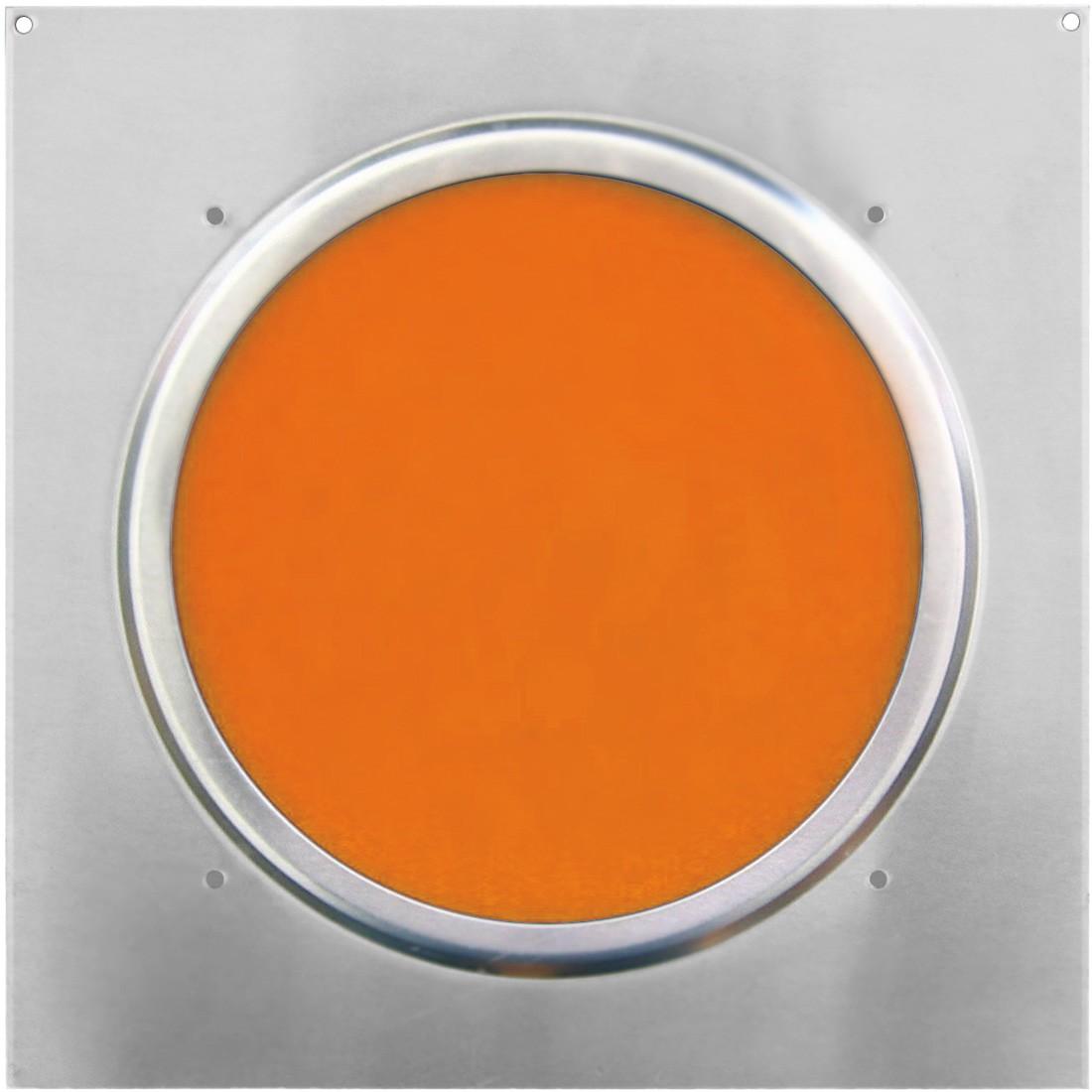 American DJ Dichrofilter PAR 64 (srebrny) pomarańczowy - filtr do reflektorów PAR 64