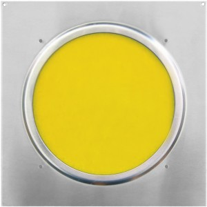 American DJ Dichrofilter PAR 64 (srebrny) żółty - filtr do reflektorów PAR 64