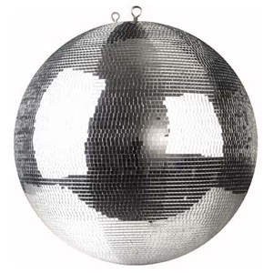 Showtec Kula lustrzana 30cm z lusterkami 5x5mm