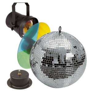 Showtec Mirrorball set 30