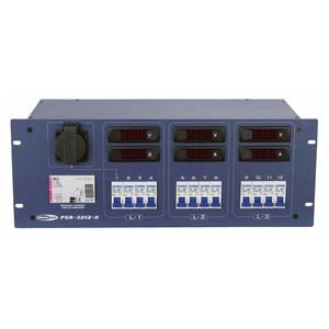 Showtec PSA-3212M - dystrybutor mocy