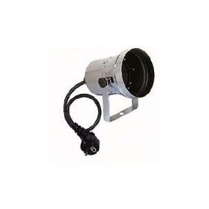 Showtec PAR 36 srebrna - obudowa reflektora PAR36