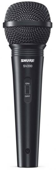Shure SV 200-A - mikrofon dynamiczny+akcesoria