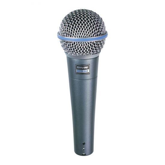 Shure Beta 58A - mikrofon dynamiczny