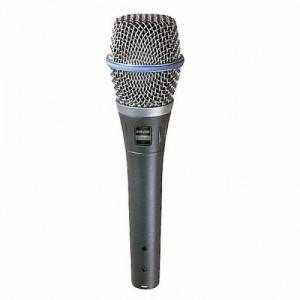 Shure Beta 87A - mikrofon pojemnościowy