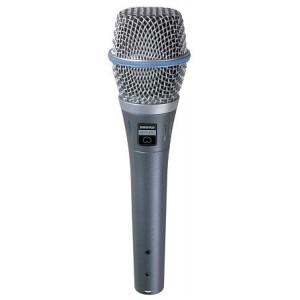 Shure Beta 87C - mikrofon pojemnościowy