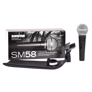 Shure SM 58 SE - mikrofon dynamiczny