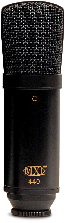 MXL 440 - mikrofon pojemnościowy
