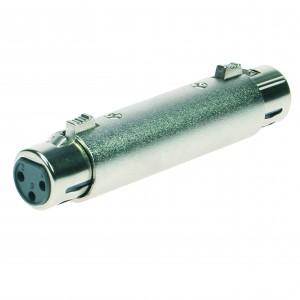 Reloop Adaptor XLR F / XLR F - przelotka