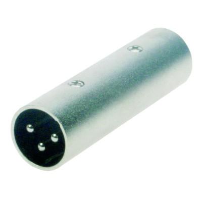 Reloop Adaptor XLR M / XLR M - przelotka