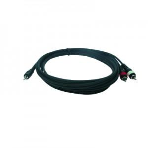 Reloop Stereo 3.5 mm Jack M / 2x RCA M 1.5 m - przewód