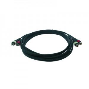 Reloop 2x RCA M / 2x RCA F 6.0 m - przewód