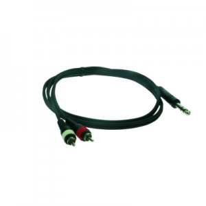 Reloop Stereo 6.3 mm Jack M / 2x RCA M 1.5 m - przewód