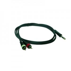 Reloop Stereo 6.3 mm Jack M / 2x RCA M 6.0 m - przewód