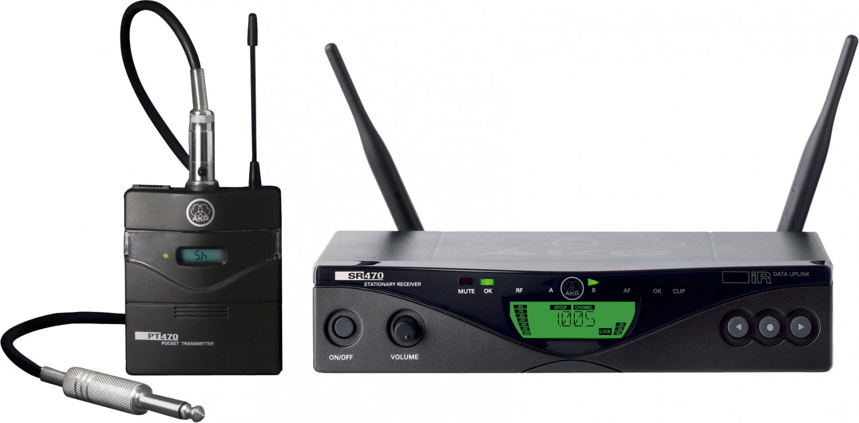 AKG WMS 470 Instrumental Set BD9-50mW - system bezprzewodowy