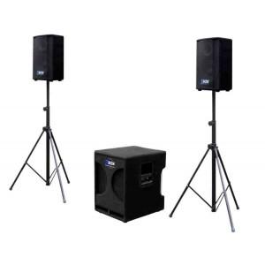 Box Electronics SUB-SAT 1100 - zestaw nagłośnieniowy