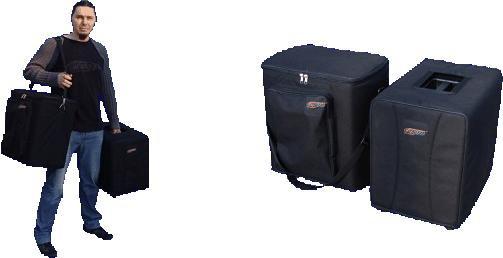 Box Electronics POKROWCE SUB SAT 400 - Komplet pokrowców do zestawu Bx10s i satelit S-10