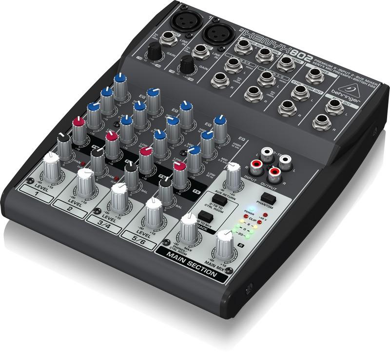 Behringer XENYX 802 - mikser