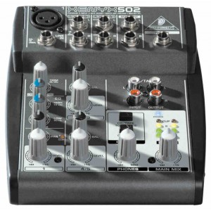 Behringer XENYX 502 - mikser