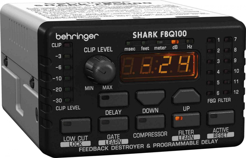 Behringer SHARK FBQ100 - eliminator sprzężeń