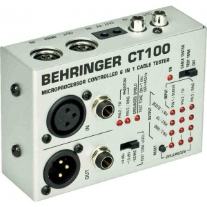 Behringer CABLE TESTER CT100 - tester kabli