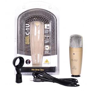 Behringer C-1U - mikrofon pojemnościowy/USB
