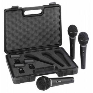 Behringer ULTRAVOICE XM1800S - zestaw mikrofonów dynamicznych