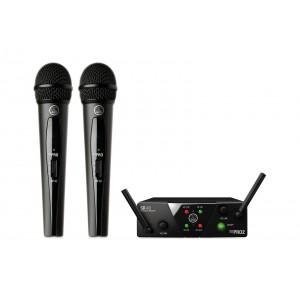 AKG WMS 40 MINI 2 Dual Vocal Set - zestaw bezprzewodowy