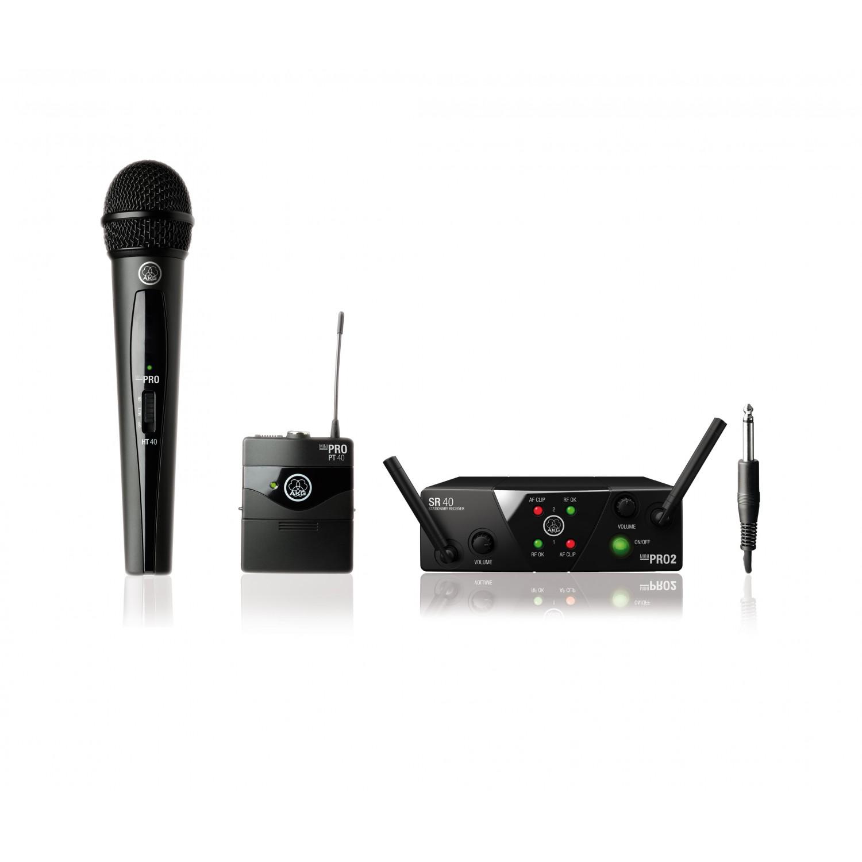 AKG WMS 40 MINI 2 Dual Vocal / Instrument Set ISM2/3 (864.375-864.850) - zestaw bezprzewodowy