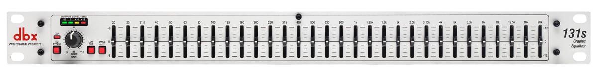 dbx 131S - korektor graficzny
