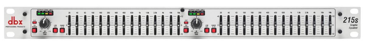 dbx 215S - korektor graficzny