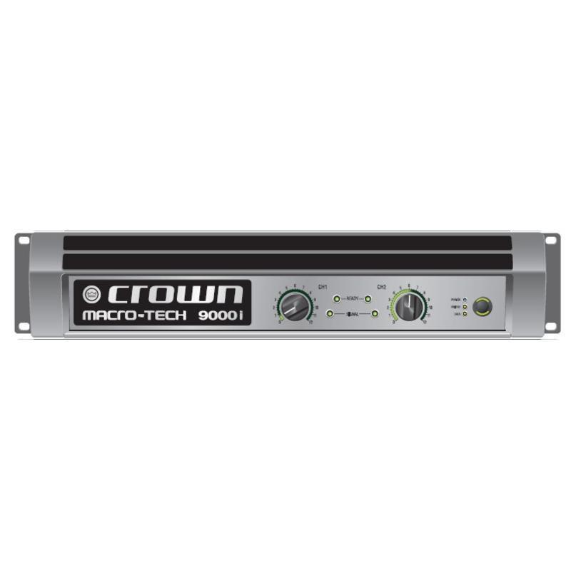 Crown MA9000i - końcówka mocy