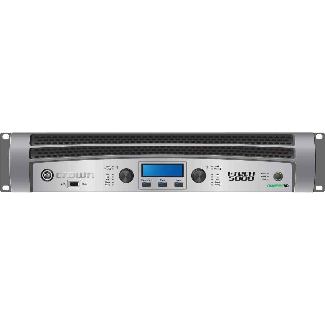 Crown IT-5000HD - końcówka mocy