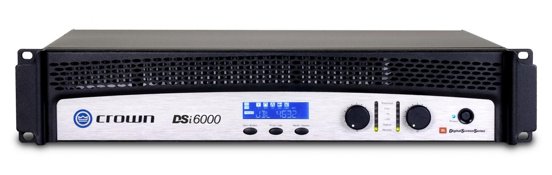 Crown DSi 6000 - końcówka mocy